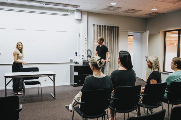 Konferensanläggning i Göteborg med människor