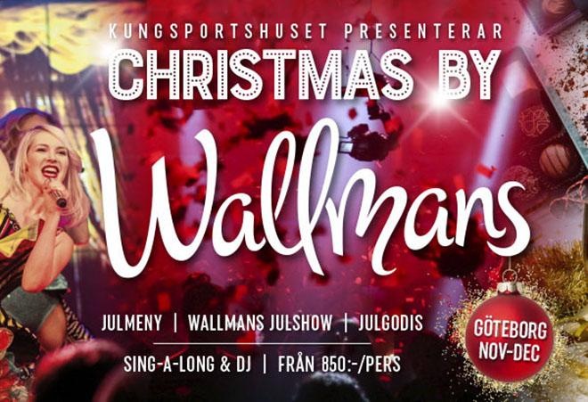 Wallmans Julshow - Konferensanläggning med konferensaktiviteter i Göteborg.